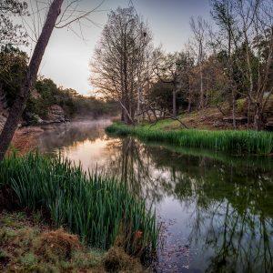 Early Morning on Smith Creek, Wimberley, Texas #2 a