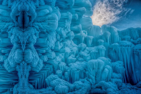 Planet of Parallels Ice Wall