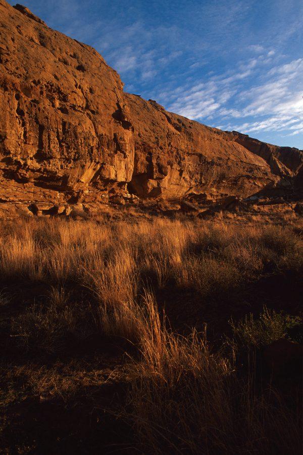 North Mesa Cliffs at Gallo, Chaco Canyon, NM