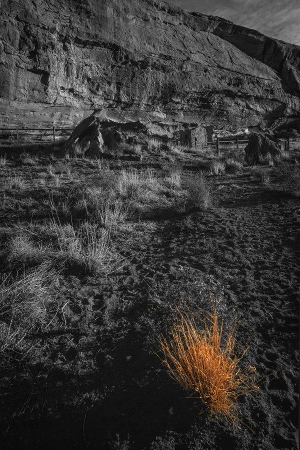 Approach to Gallo Ruin 2, Chaco Canyon, NM