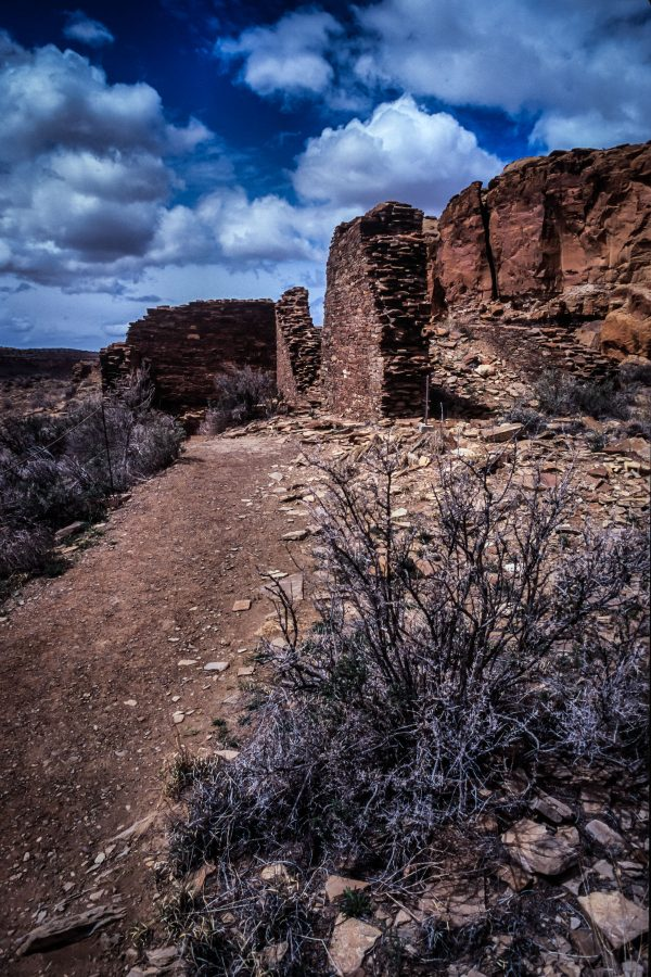 Approach to Hungo Pavi, Chaco Canyon, NM