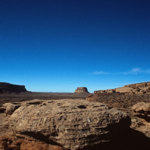 Blue Sky Over Fajada Butte, Chaco Canyon, NM