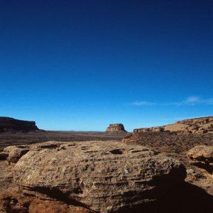 Blue Sky Over Fajada Butte, Chaco Canyon, NM