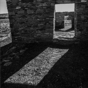 Casa Rinconada Doorway Sunlight, Chaco Canyon, NM
