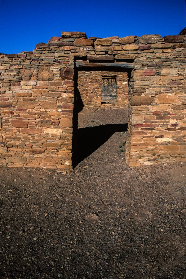 Casa Rinconada Doorways 2, Chaco Canyon, NM