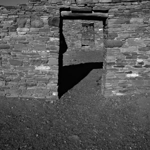 Casa Rinconada Doorways, Chaco Canyon, NM