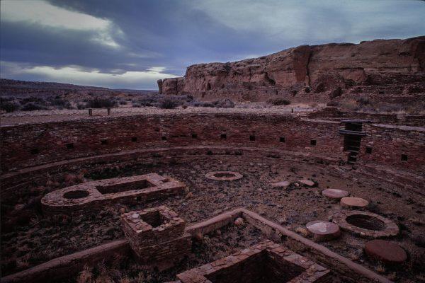 Chetro Ketl Kiva, Chaco Canyon, NM