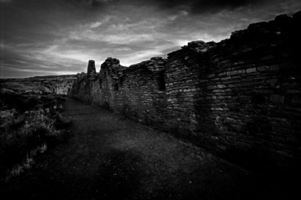 Chetro Ketl North Wall 2 , Chaco Canyon, NM