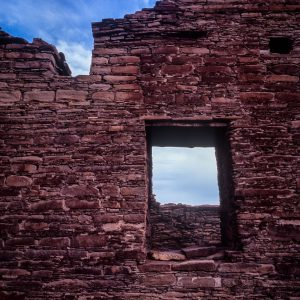 Chetro Ketl North Wall Window, Chaco Canyon, NM