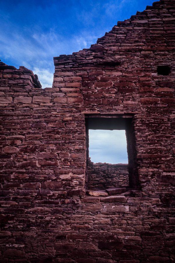 Chetro Ketl North Wall Window, Chaco Canyon, NM
