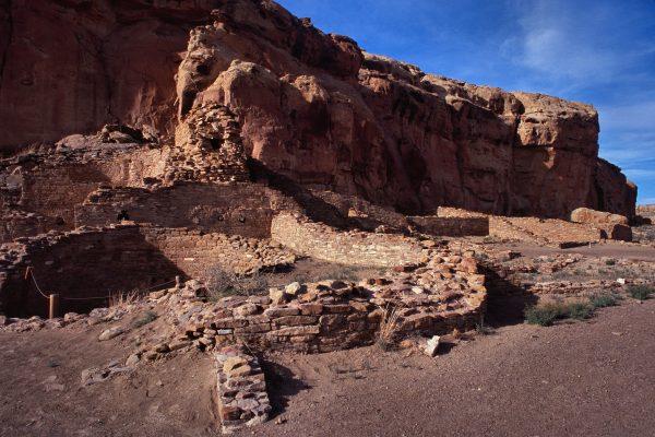Chetro Ketl West , Chaco Canyon, NM