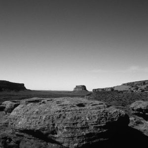 Clear Sky Over Fajada Butte, Chaco Canyon, NM