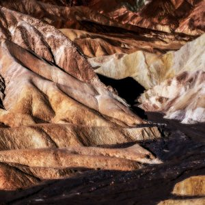 Dry River Bed 2, Zabriskie Point, Death Valley, CA