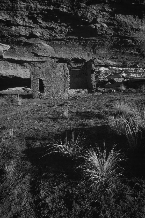 Early Morning Light on Gallo Ruin 2, Chaco Canyon, NM