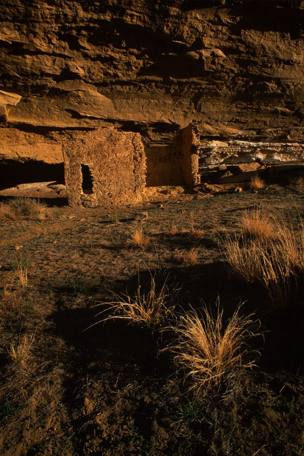 Early Morning Light on Gallo Ruin, Chaco Canyon, NM