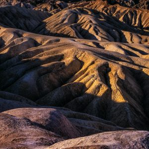Early Morning View, Zabriskie Point, Death Valley, CA