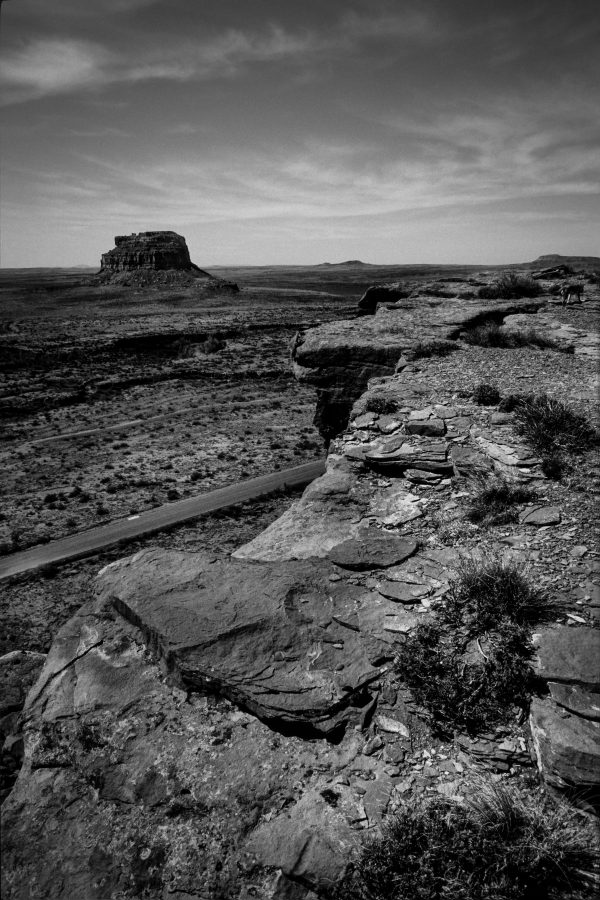 Fajada Butte From the North Mesa 5, Chaco Canyon, NM