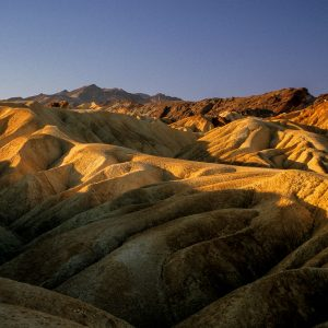 Folds at Zabriskie Point, Death Valley, CA
