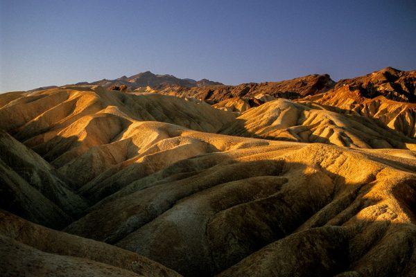 Folds at Zabriskie Point, Death Valley, CA