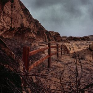Gallo Ruin Rail Fence, Chaco Canyon, NM