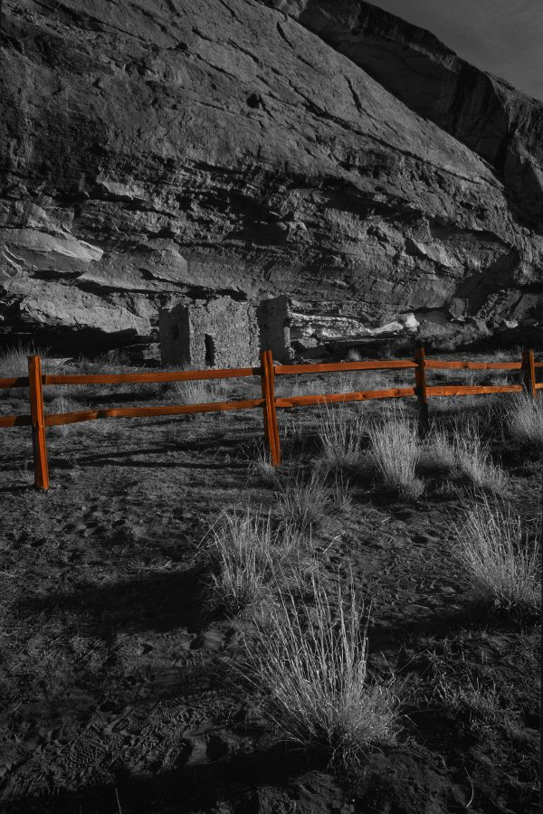 Gallo Ruin and Rail Fence 2, Chaco Canyon, NM