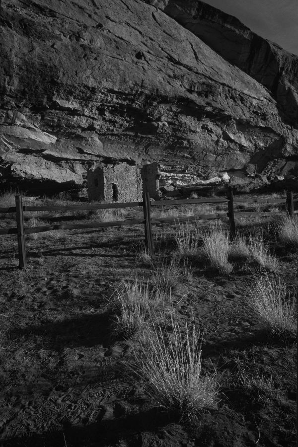 Gallo Ruin and Rail Fence, Chaco Canyon, NM
