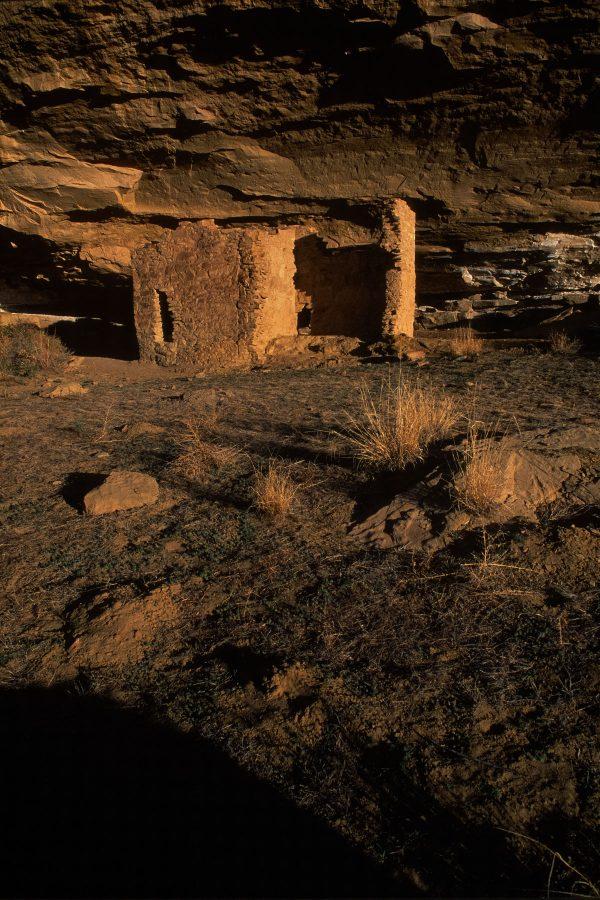 Gallo Ruin in Morning Light, Chaco Canyon, NM