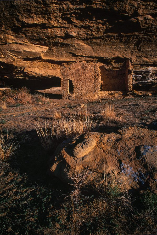 Gallo Ruin in the Early Morning, Chaco Canyon, NM