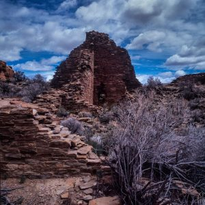 Great House of Hungo Pavi 2, Chaco Canyon, NM