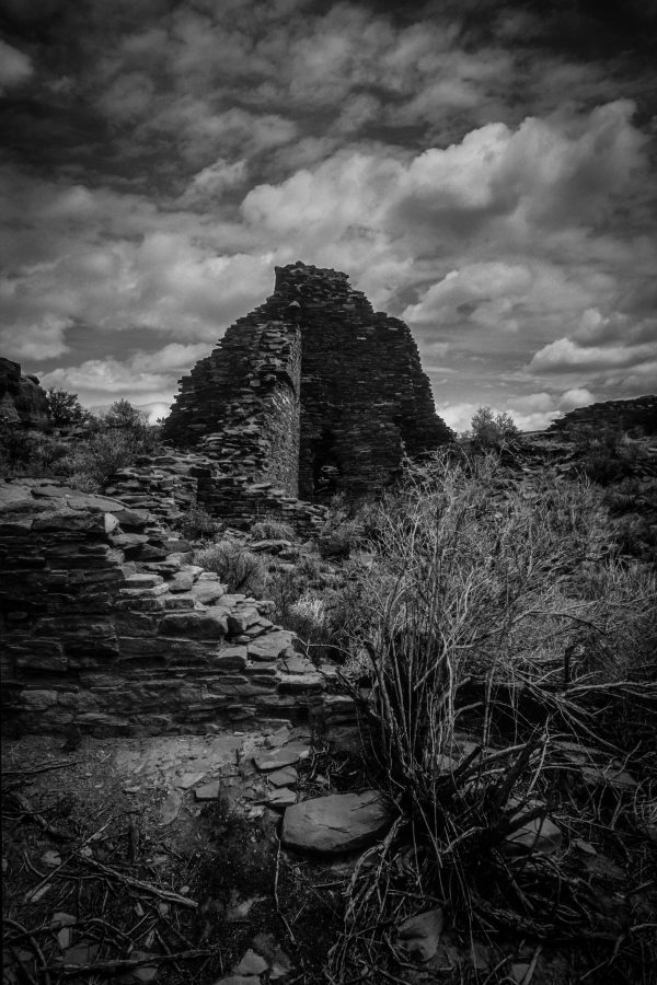 Great House of Hungo Pavi, Chaco Canyon, NM