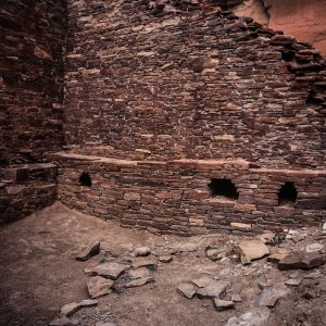 Hungo Pavi Interior Room, Chaco Canyon, NM