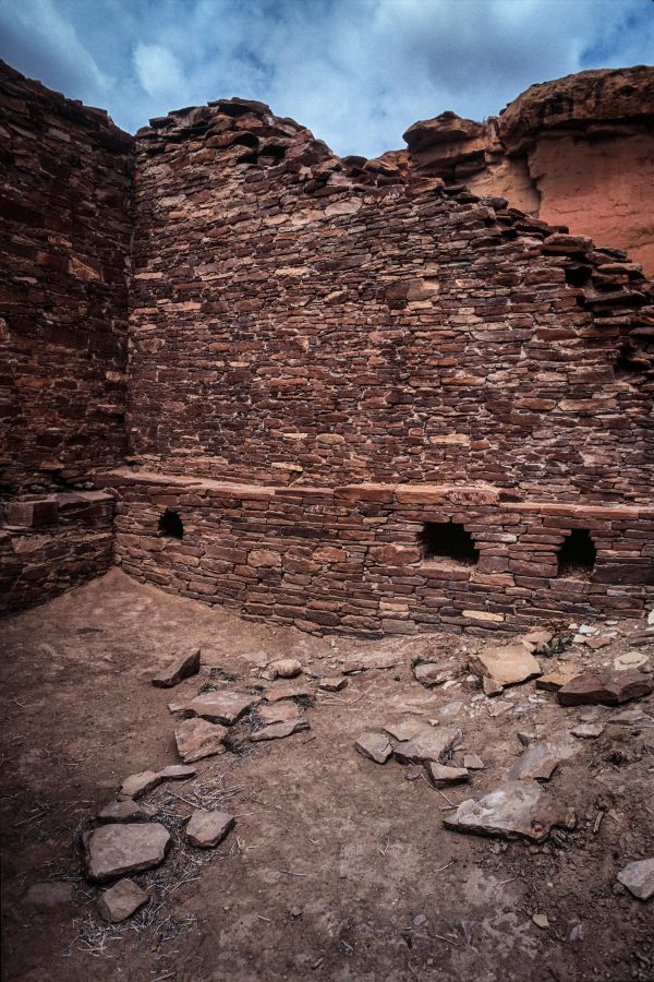 Hungo Pavi Interior Room, Chaco Canyon, NM