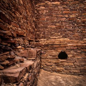 Hungo Pavi Timber Slot, Chaco Canyon, NM