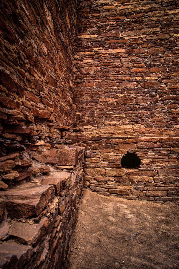 Hungo Pavi Timber Slot, Chaco Canyon, NM