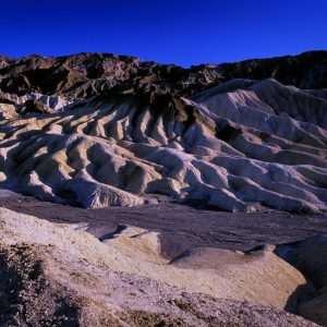 Manifold and River Bed, Zabriskie Point, Death Valley, CA
