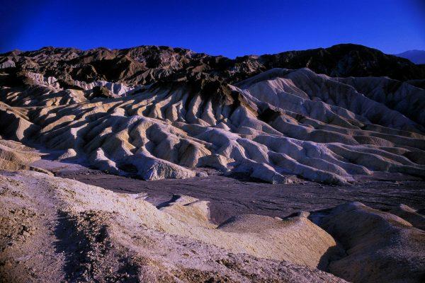 Manifold and River Bed, Zabriskie Point, Death Valley, CA