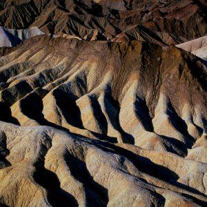 Manifold at Zabriskie Point 2, Death Valley, CA