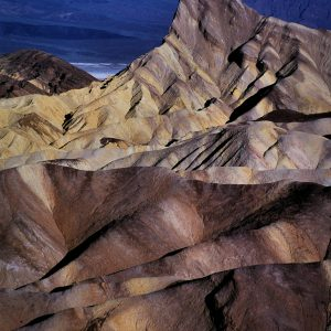 Manly Beacon From Zabriskie Point 2, Death Valley, CA