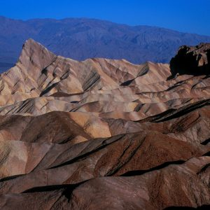 Manly Beacon From Zabriskie Point, Death Valley, CA