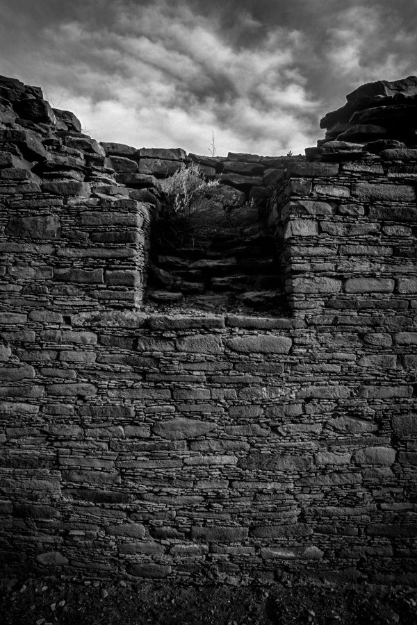 Niche in North Wall of Chetro Ketl 2, Chaco Canyon, NM