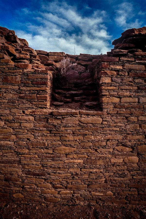 Niche in North Wall of Chetro Ketl, Chaco Canyon, NM