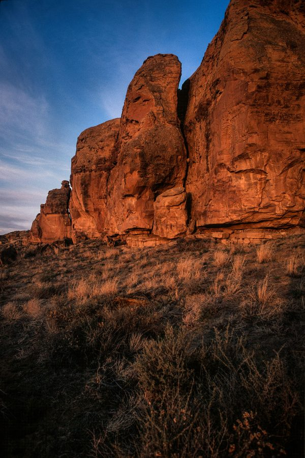 North Mesa Cliff Face at Gallo 2, Chaco Canyon, NM
