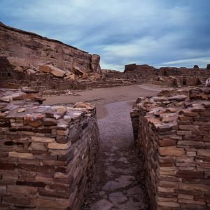 Passage Way in Pueblo Bonito, Chaco Canyon, NM