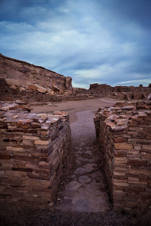 Passage Way in Pueblo Bonito, Chaco Canyon, NM