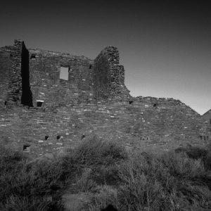 Pueblo Bonito East Wall 3 , Chaco Canyon, NM