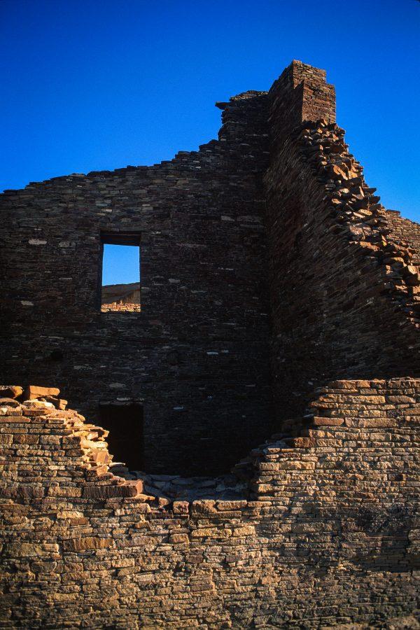 Pueblo Bonito High Room 2, Chaco Canyon, NM