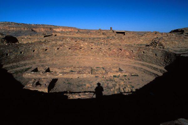 Pueblo Bonito Kiva, Chaco Canyon, NM