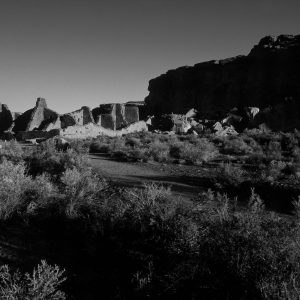 Pueblo Bonito in Early Morning Light, Chaco Canyon, NM
