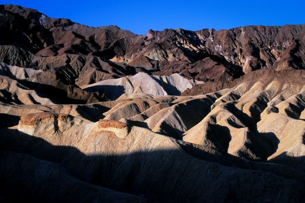 Red Top Rocks and Folds 2, Zabriskie Point, Death Valley, CA