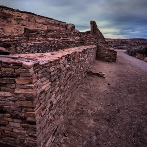 South Wall of Pueblo Bonito 2, Chaco Canyon, NM